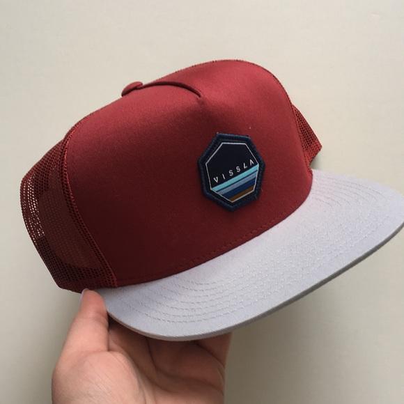 39dccc811fd Vissla Dead Love Hat - Blood Red